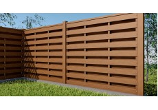 Паркани з деревинно-полімерного композиту