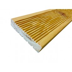 Сибирская Лиственница Евро профиль сорт АВ рифленая 27х120/142 длины 2-6 м